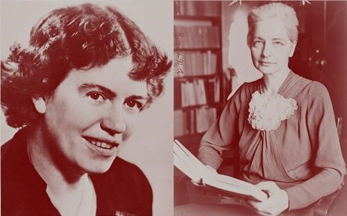 (from left to right) Margaret Mead and Ruth Benedict