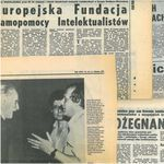 OSA Acquires the Archives of the Foundation for the Support of European Intellec