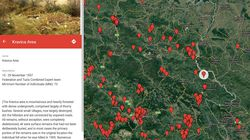 Map of Mass Grave Exhumations in Bosnia and Herzegovina Published