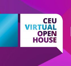 CEU banner for the Open House