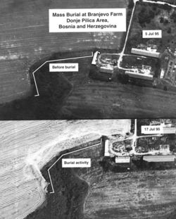 CIA Spy Photos of Graves and Destroyed Villages (David Rohde Collection)