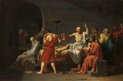 The Death of Socrates by David