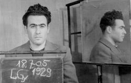 György Litván's mug shot, 1958. Source: Oral History Archives, 1956 Institute