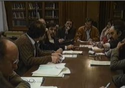 Opposition Roundtable Negotiations, image from the Black Box recordings