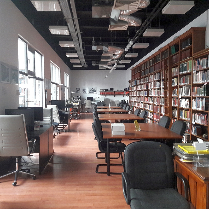 Closed Research Room on April 3 (Photo: Csaba Szilágyi)