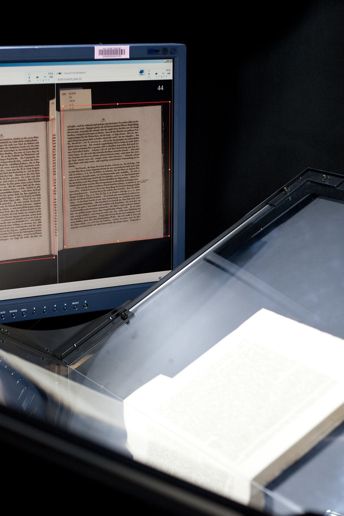 Atiz Book digitization, source Flicker